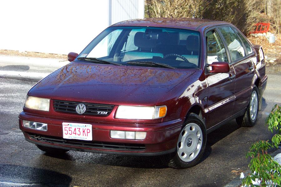 For Sale: Rare 1996 Volkswagen Passat TDI, 5-speed,Marshfield ...